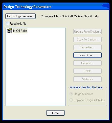 Созданный файл DTP
