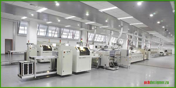 Замена оборудования при внедрении технологии бессвинцовой пайки RoHS