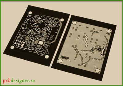 Фотошаблон для травления печатных плат