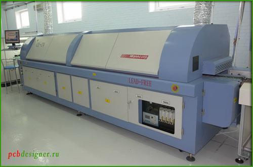 Бессвинцовая пайка печатных плат в технологии поверхностного монтажа на автоматических линиях