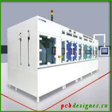 Пример организации процесса отмывки на производстве при травлении печатных плат