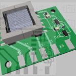 Печатная плата фазового детектора
