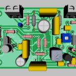 Печатная плата амплитудного модулятора