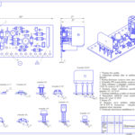 Сборочный чертеж электронного выпрямительного устройства
