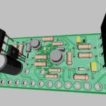 3D трассировка электронного выпрямительного устройства