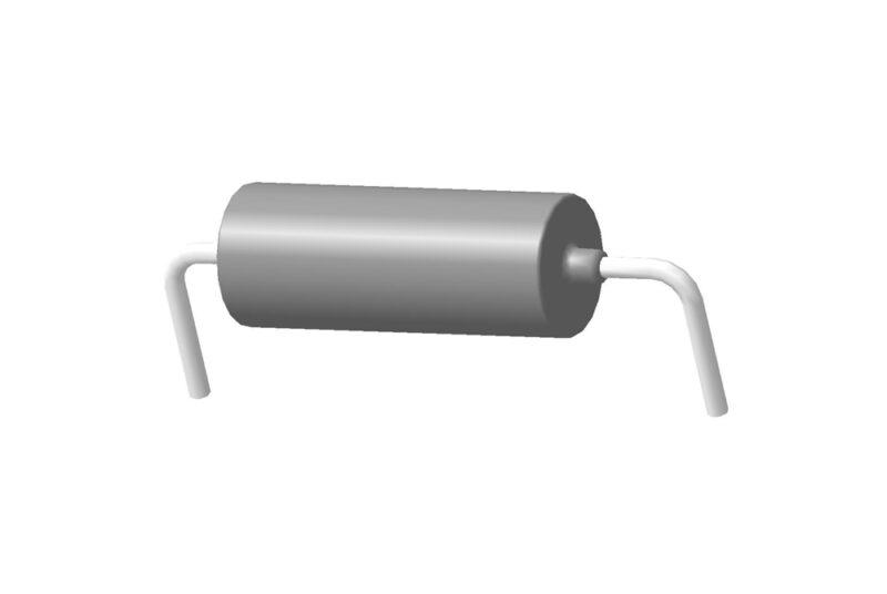 Танталовый оксидно-полупроводниковый конденсатор К53-18 3D модель