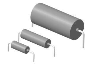 3D модели танталовых оксидно-полупроводниковых конденсаторов