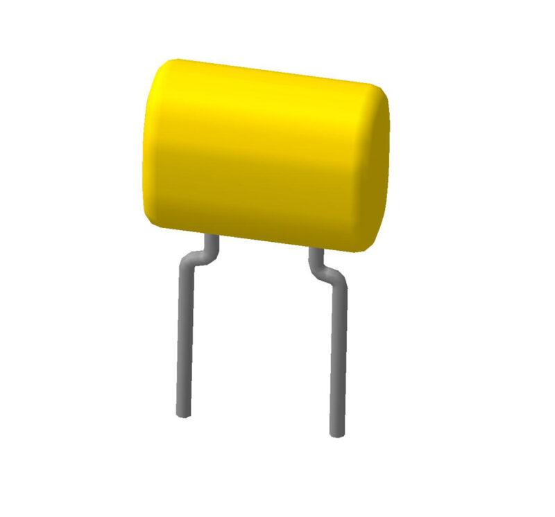 Керамический многопленочный выводной конденсатор К10-17