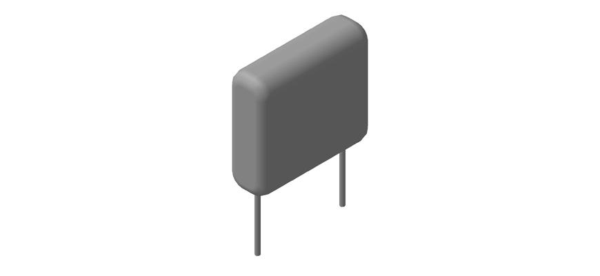 Архив 3D моделей конденсаторов серии CL21