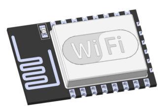 Wi-Fi модуль ESP8266-12F 3D CAD step модель