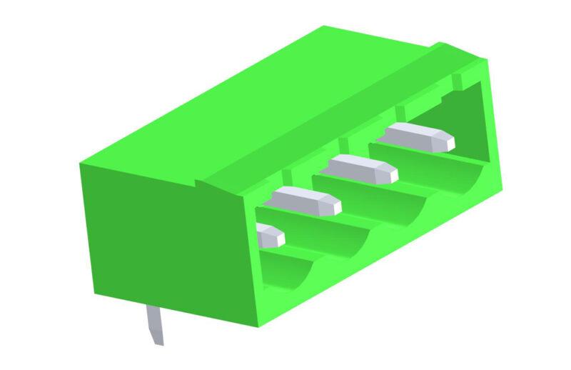 3D модель соединителя 2EHDRC