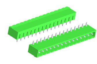 Скачать 3D модели соединителей 2EHDRC