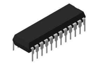 3D модель корпуса DIP-24P-M04