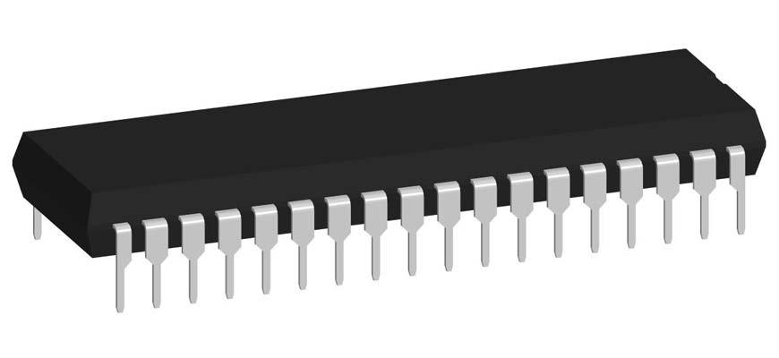 3D модель корпуса DIP-36P-M01