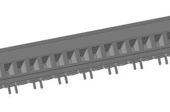 3D модели клеммных соединителей серии 39950