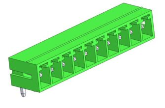 3D модели разъемов серии ECH381R