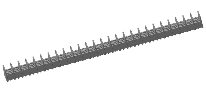 3D модели клеммных соединителей Molex