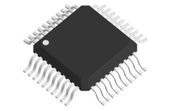 3D модель корпуса QFP-40